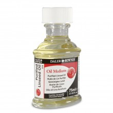 Daler Rowney : Purified Linseed Oil 75ml