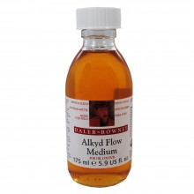 Daler Rowney : Alkyd Flow Medium : 175ml : Ship By Road Only