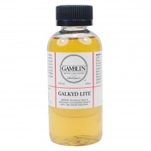 Gamblin : Galkyd Lite Oil Painting Medium : 125ml : By Road Parcel Only