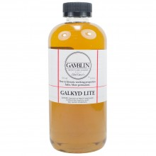 Gamblin : Galkyd Lite Oil Painting Medium : 500ml : Ship By Road Only