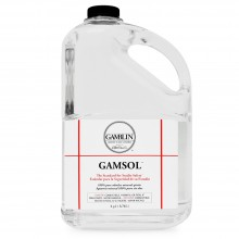 Gamblin : Gamsol Odourless Mineral Spirit : 3780ml