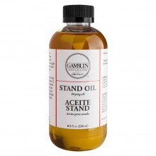 Gamblin : Linseed Stand Oil : 237ml