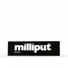 Milliput : Epoxy Resin : 113.4g : Black : Versatile Putty Can Be Sculpted