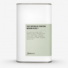 Jackson's : Fast Drying Oil Painting Medium : Gloss : 1 litre : By Road Parcel Only