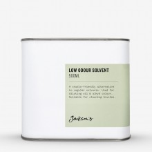 Jackson's : Low Odour Solvent 500ml *Haz*