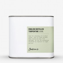 Jackson's : English Distilled Turpentine 500ml *Haz*