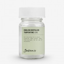 Jackson's : English Distilled Turpentine 60ml : By Road Parcel Only