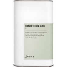 Jackson's : Picture Varnish Gloss 1 Litre : Ship By Road Only