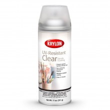 Krylon : UV Resistant Clear Acrylic Coating : 11oz : Gloss : Ship By Road Only