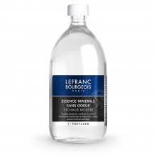 Lefranc & Bourgeois : Odourless Solvent : 1000ml