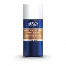 Lefranc & Bourgeois : Spray Varnish : Gloss : 150ml