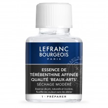 Lefranc & Bourgeois : Rectified Turpentine Spirits : 75ml
