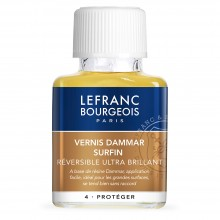 Lefranc & Bourgeois : Extra Fine Dammar Varnish : 75ml