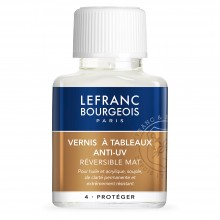 Lefranc & Bourgeois : Acrylic Varnish Anti UV Matte : 75ml
