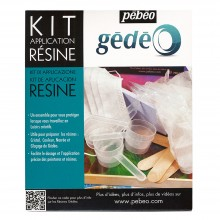 Pebeo : Resins Application Kit