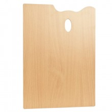 Mabef : Rectangle MDF Palette : 35x45cm : 3.7mm Thick