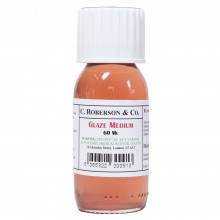 Roberson : Glaze Medium : 60ml : By Road Parcel Only