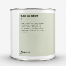 Jackson's : Gloss Gel Medium : 1 Litre Oil Colour Medium *Haz*