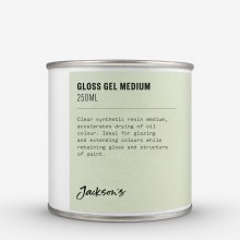 Jackson's : Gloss Gel Medium : 250ml Oil Colour Medium : By Road Parcel Only