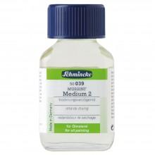 Schmincke : Mussini Oil Medium : 2 Slow Dry : 60ml : By Road Parcel Only