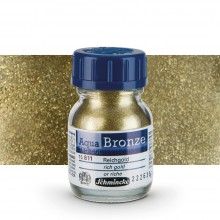 Schmincke : Aqua Bronze Powder : 20ml : Rich Gold