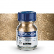 Schmincke : Aqua Bronze Powder : 20ml : Pale Gold