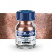 Schmincke : Aqua Bronze Powder : 20ml : Copper : Ship By Road Only