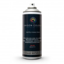 Unison Colour : Pastel Fixing Spray : 400ml : Matt