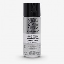 Winsor & Newton : Artists Picture Varnish Spray : 400ml : Gloss : Ship By Road Only