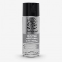 Winsor & Newton : Artists Picture Varnish Spray : 400ml : Satin (Road Shipping Only) *Haz*
