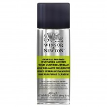 Winsor & Newton : General Purpose Spray Varnish : 400ml : Gloss