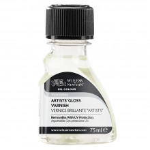 Winsor & Newton : Artists Gloss Varnish : 75ml : By Road Parcel Only