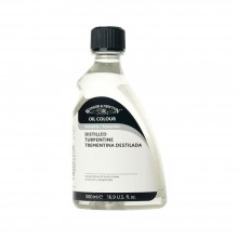 W&N : 500ml English Distilled Turpentine : By Road Parcel Only