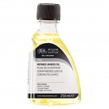 Winsor & Newton : Refined Linseed Oil : 250ml