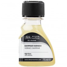 Winsor & Newton : Artist Dammar Varnish : 75ml : Ship By Road Only