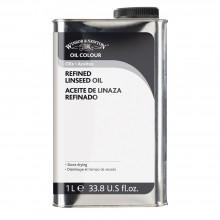Winsor & Newton : Refined Linseed Oil : 1000ml