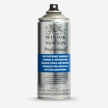 Winsor & Newton : Retouching Spray Varnish : 400ml : Ship By Road Only