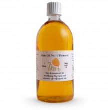 Zest-It : Printmakers Plate Oil 1 (Thinnest) : 1000ml