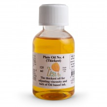 Zest-It : Printmakers Plate Oil 4 (Thickest) : 125ml