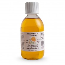 Zest-It : Printmakers Plate Oil 4 (Thickest) : 250ml