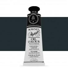 Daler Rowney : Artists' Oil Paint : 38ml : Blue Black