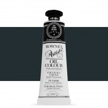 Daler Rowney : Artists' Oil Paint : 38ml : Ivory Black