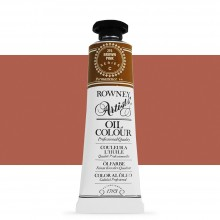Daler Rowney : Artists' Oil Paint : 38ml : Brown Pink
