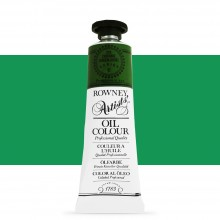 Daler Rowney : Artists' Oil Paint : 38ml : Chrome Green Hue