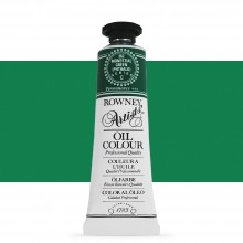 Daler Rowney : Artists' Oil Paint : 38ml : Monestial Green Phthalo