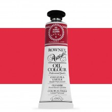 Daler Rowney : Artists' Oil Paint : 38ml : Scarlet Alizarin
