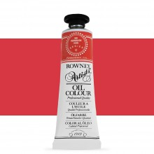 Daler Rowney : Artists' Oil Paint : 38ml : Vermillion Hue