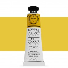 Daler Rowney : Artists' Oil Paint : 38ml : Aureolin