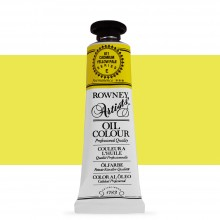 Daler Rowney : Artists' Oil Paint : 38ml : Cadmium Yellow Pale