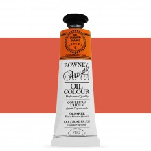 Daler Rowney : Artists' Oil Paint : 38ml : Cadmium Orange